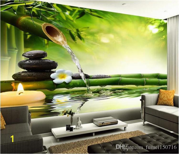 Customize Any Size 3D Wall Murals Living Room Modern Fashion Beautiful New Bamboo Ching Wallpaper Murals Free Desktop Wallpaper Widescreen Free
