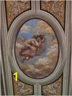 Ufizzi Gallery Florence Italy check Ceiling Murals
