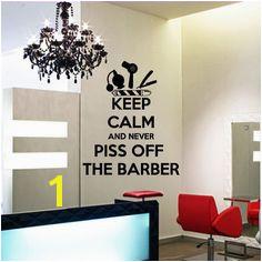 Wall decal vinyl art decor hairdressing hair by DecorWallDecals $28 99 Barber Shop Decor Barbershop
