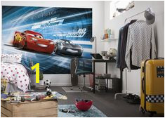 wallpaper mural for children s bedroom Cars 3 Disney paper wallpaper ideas Express and
