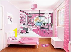 Barbie Kids Wall Mural available at WolfStock UK Barbie Room Barbie Kids Wallpaper