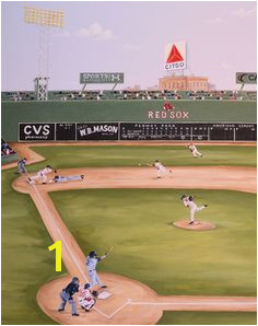 Baseball Field Mural 28 Best Art Images