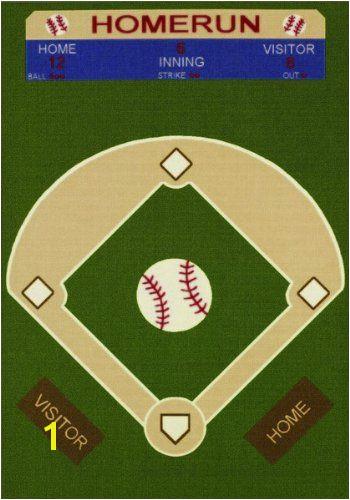 Baseball Field Mural Pin by Leslie Kiefaber On C Money
