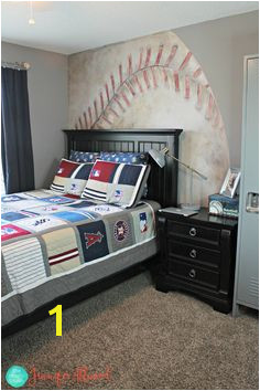 Baseball Wall Mural Baseball Wall Teen Boys Cool Diy Projects Household Tips