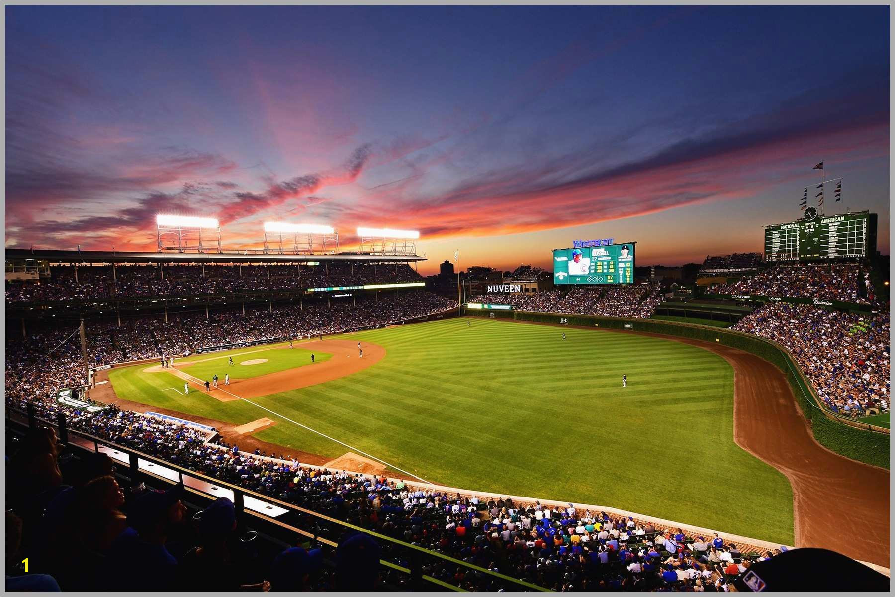 Baseball Stadium Wallpaper Murals Amazing Wrigley Field Wall Mural Palesten