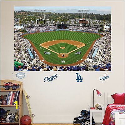 Fathead Los Angeles Dodgers Stadium Mural Wall Decals