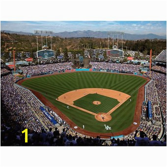 Los Angeles Dodgers Fathead Giant Removable Wall Mural
