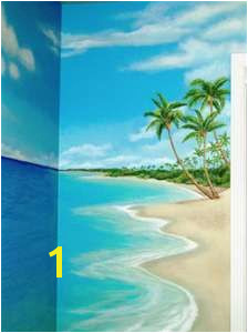 Beach Themed Wall Murals
