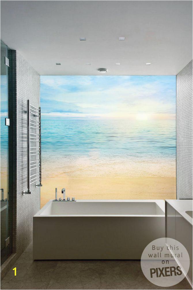 Wall Mural Beach inspiration wall mural interiors gallery• PIXERSIZE
