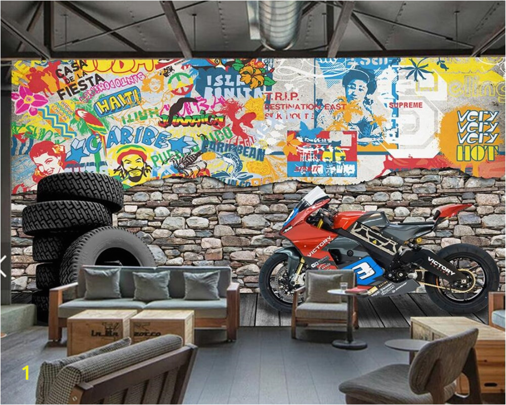Beatles Wall Mural Beibehang Custom Wallpaper tooling Background Hotel Dining