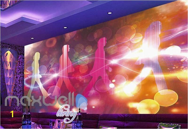 Beatles Wall Mural Graphic Art Design Colorful the Beatles Cover Album Art Wall Murals