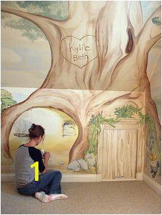 Beatrix Potter mural cubbyhole3
