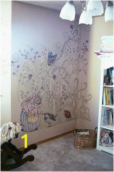 Beatrix Potter Mural by Adria Gamble Hanson