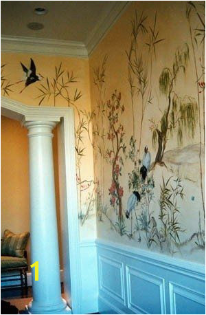 Custom Made Asian Wall Mural