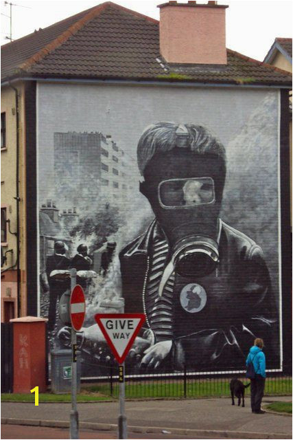 Anti war Mural Northern Ireland Belfast