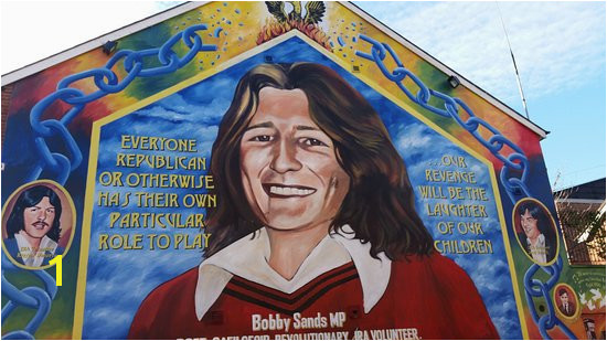 Taxi Trax Bobby Sands Mural