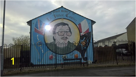 Paddy Campbell s Belfast Famous Black Cab Tours UVF Mural