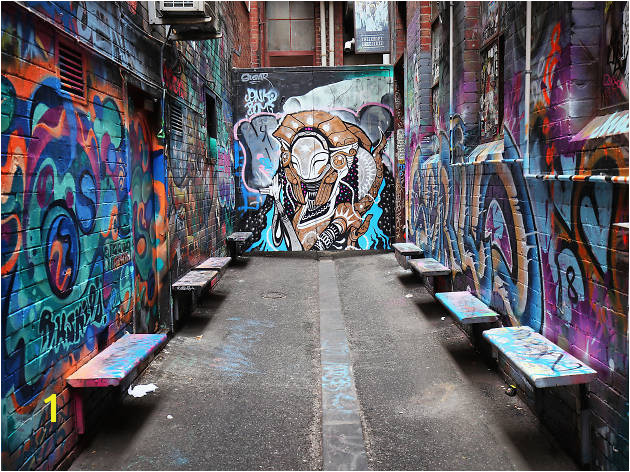 Croft Alley Melbourne Street Art 2017 credit Graham Denholm