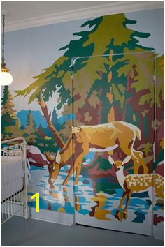 Cool DIY Paint By Numbers Wall Mural