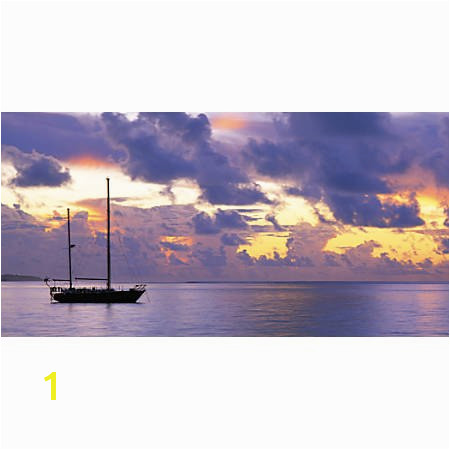 "Biggies Wall Mural 60"" x 120"" Sunset Sail"