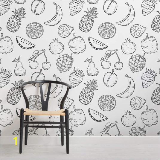 fruity colour in wallpaper childrens square wall murals