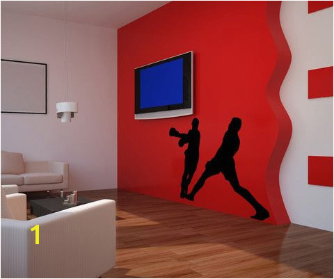 Vinyl Wall Decal Sticker Boxing Match OS MB520
