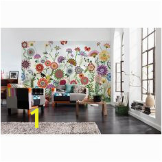 Komar Brazil Flowers Wall Mural