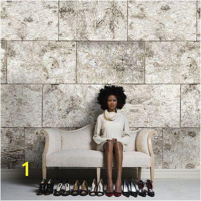 Brewster Home Fashions Komar Birch Wall Mural