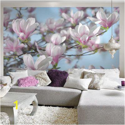 Brewster Home Fashions Komar Magnolia Wall Mural