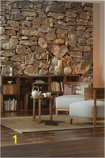 Stone Wall Mural by Brewster Home Fashions on HauteLook