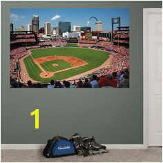 Busch Stadium Wall Mural 135 Best Boys Rooms Images In 2019