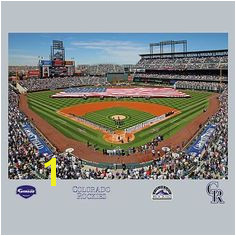 Colorado Rockies Coors Field Stadium Mural Fathead Colorado Rockies Pbteen Wall Murals Mlb