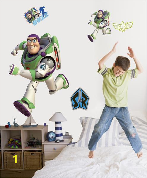 "Disney ""Toy Story 3"" Buzz Wall Decal Cutout"