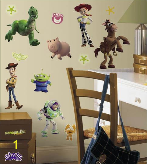 "Disney ""Toy Story 3"" Wall Decal Cutouts Installed"