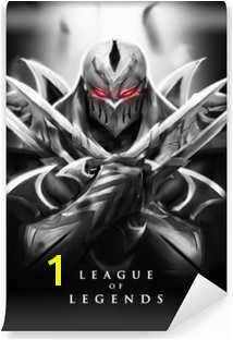 Zed League of Legends Vinyl Wall Mural
