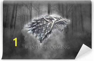 Winter is ing Vinyl Wall Mural