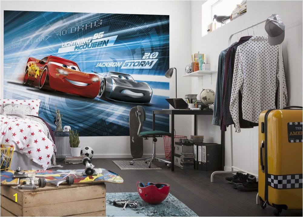 wallpaper mural for children s bedroom Cars 3 Disney paper wallpaper ideas Express and worldwide shipping Free UK delivery