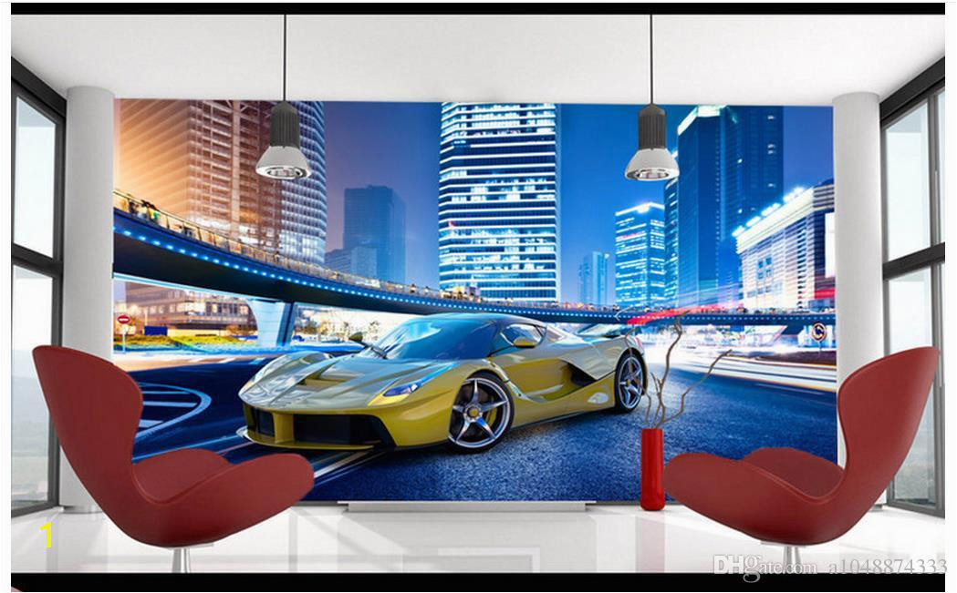 High Quality Custom 3d Wallpaper Murals Wall Paper To Enjoy the Cool Sports Car Murals Tv Wallpaper Decoration Living Room Wallpaper 3d Wallpaper