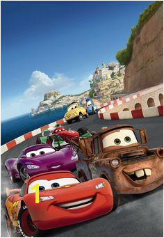 [ Disney Cars Italy Wall Mural ficial For Your Home Buy Abposters ] Best Free Home Design Idea & Inspiration