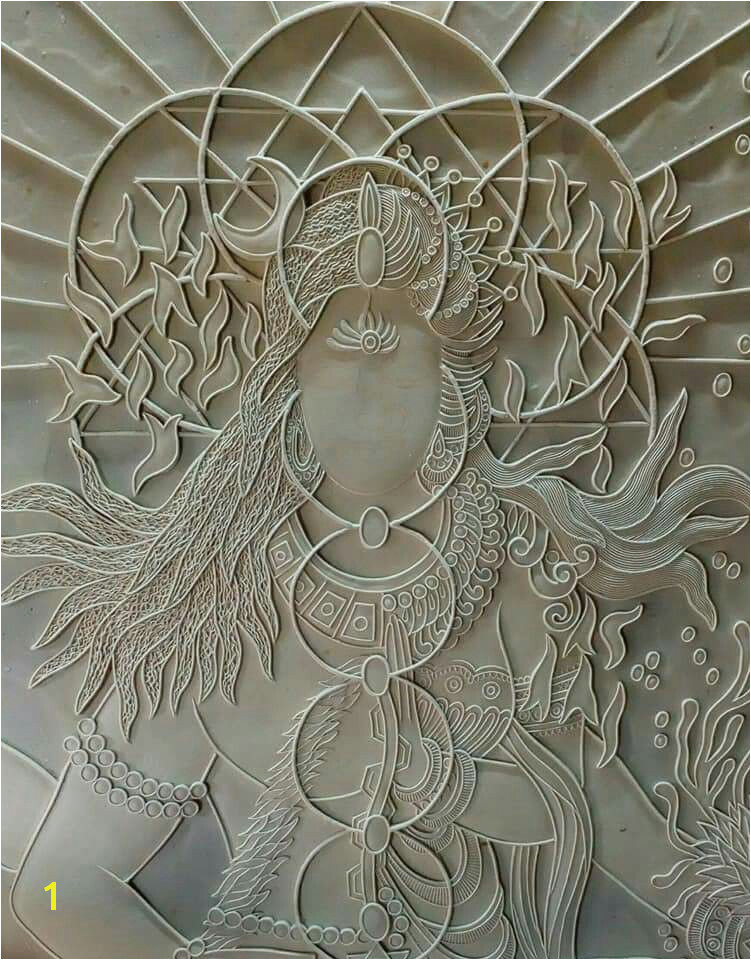 Indian handcrafts Lotus Painting Mural Painting Sketch Painting Mural