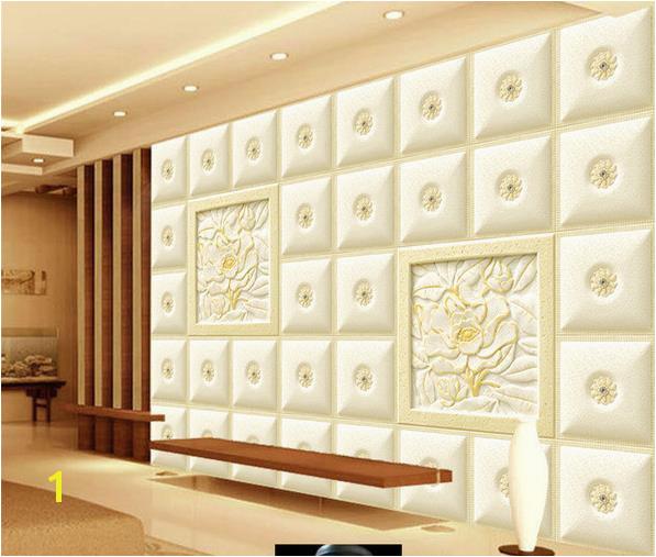 Custom Wallpaper 3D Sofa TV Background Wallpaper Mural Wall Embossed Box 3d Mural Wallpaper Hd Wallpaper Background Hd Wallpaper