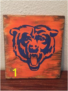 Chicago Bears home decor