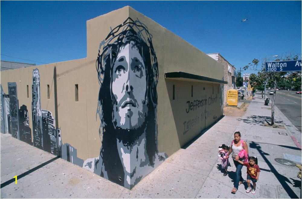 The Passion of Christ As Seen in Murals Around America