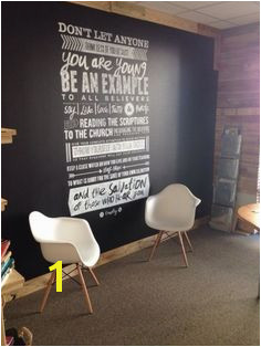 Scripture wall for youth room Denice S · Kids Min