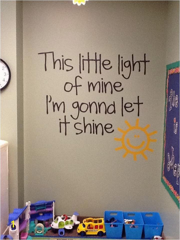 Perfect Sunday School room idea Uppercase Living Vinyl