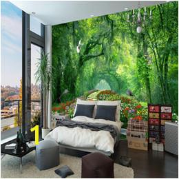 3d Wallpaper Kids Bedroom UK Nature Landscape 3D Wall Mural Wallpaper wood park small road