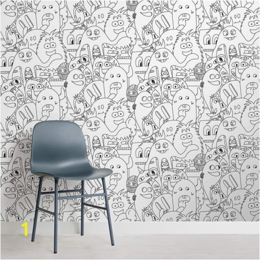 Monsters Colour In Wallpaper