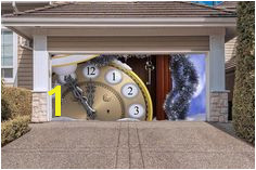BEST SELLER Christmas Double Garage Door Cover Christmas Garage Door Murals Outdoor Decor