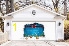 Items similar to BEST SELLER Christmas Double Garage Door Cover Christmas Garage Door Murals Outdoor Decor Xmas Mural Xmas Decoration DAV48 on Etsy