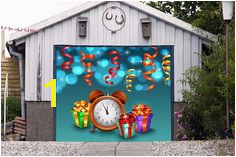 Christmas Garage Door Decor Single Garage Door Mural